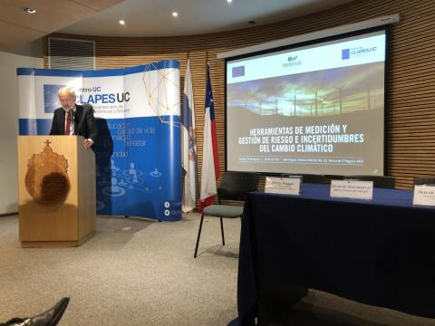 Alejandro Zurita, Head of Science, Techniology and Innovation division of the EU delegation to Brazil